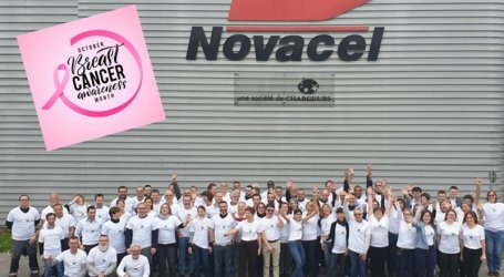 Novacel Committed to the Breast Cancer Fight